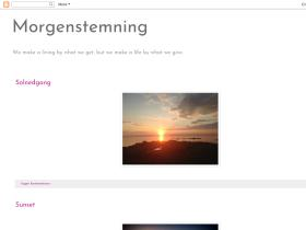 morgenstemning.blogspot.com