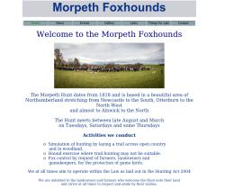 morpethfoxhounds.co.uk