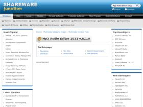 mp3-audio-editor-2011.sharewarejunction.com