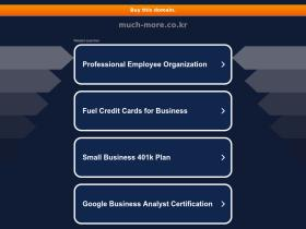 much-more.co.kr