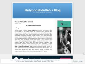 mulyonoabdullah.wordpress.com