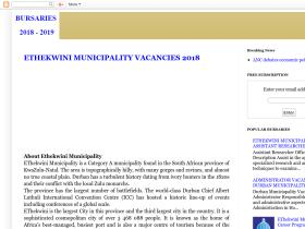 municipalityvacancies.blogspot.com