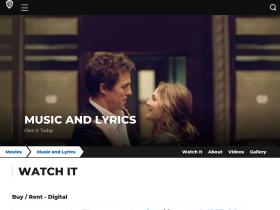 musicandlyrics.warnerbros.com