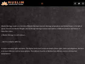 muslim-marriage-guide.com