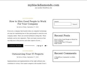 myblackdiamonds.com