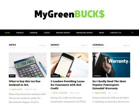 mygreenbucks.net