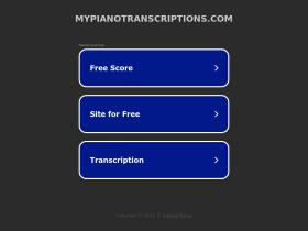 mypianotranscriptions.com
