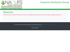 nacufscustomersurvey.com