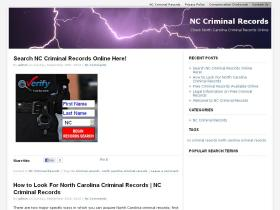 nccriminalrecords.net