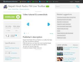 nepali-hindi-radio-fm-live-toolbar.software.informer.com