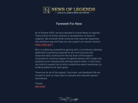 newsoflegends.com