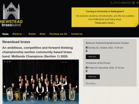 newsteadband.co.uk