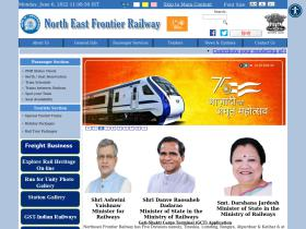 nfr.indianrailways.gov.in