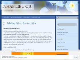 nhaplieucaobang.wordpress.com