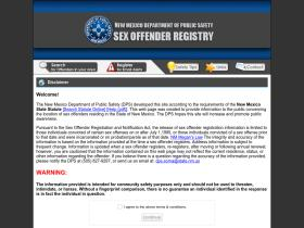 Really. And dps sex offender registry