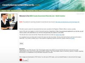 northcarolina.countygovernmentrecords.com