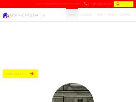 northcarolinatitlesearch.com