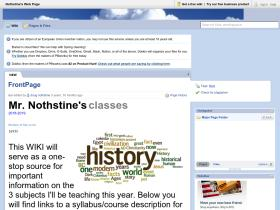 nothstine.pbworks.com