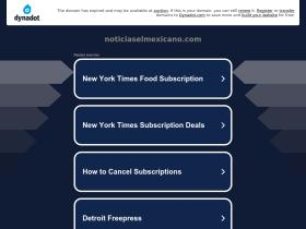 noticiaselmexicano.com