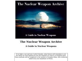nuclearweaponarchive.org