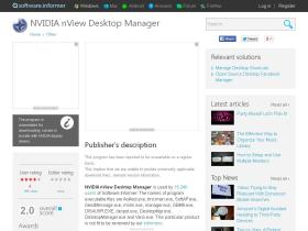nvidia-nview-desktop-manager.software.informer.com