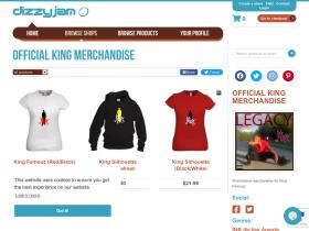 official-king-merchandise.dizzyjam.com