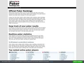 officialpokerrankings.com