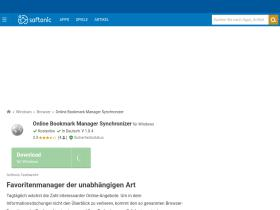 online-bookmark-manager-synchronizer.softonic.de