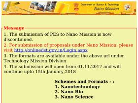 online-nanomission.gov.in