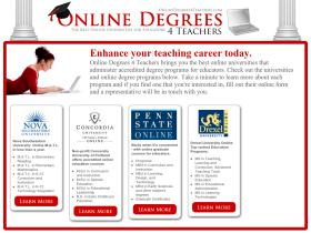 onlinedegrees4teachers.com