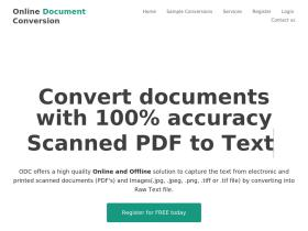 onlinedocumentconversion.com