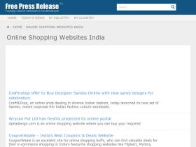 onlineshoppingwebsitesindia.377891.free-press-release.com