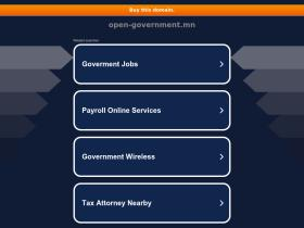 open-government.mn