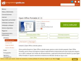 open-office-portable.programasgratis.es
