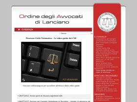 ordineavvocatilanciano.it