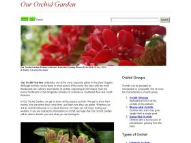 our-orchid-garden.com