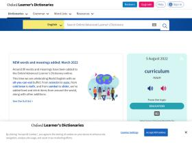 oxfordadvancedlearnersdictionary.com