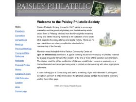 paisleyphilatelic.org.uk