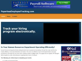 paperlessemployeetracking.com