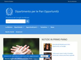 pariopportunita.gov.it