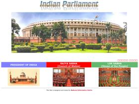 parliamentofindia.nic.in