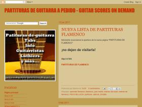 partiturasdeguitarra-guitarscores.blogspot.com