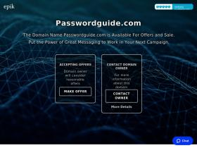 passwordguide.com