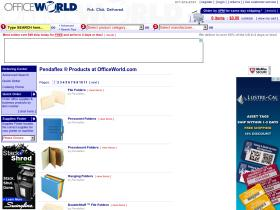 pendaflex.officeworld.com
