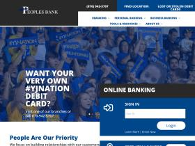 peoplesbankar.com