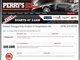 perrysautoauction.com