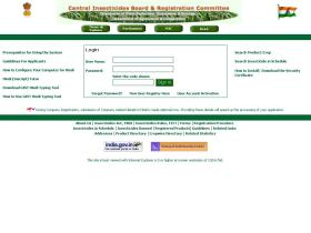 pesticides-registrationindia.nic.in