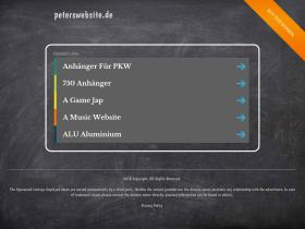 peterswebsite.de