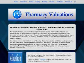 pharmacyvaluations.com