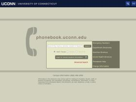 phonebk.uconn.edu
